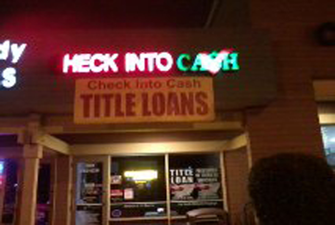 HECK into cash!?